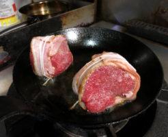 赤身肉ベーコン巻き