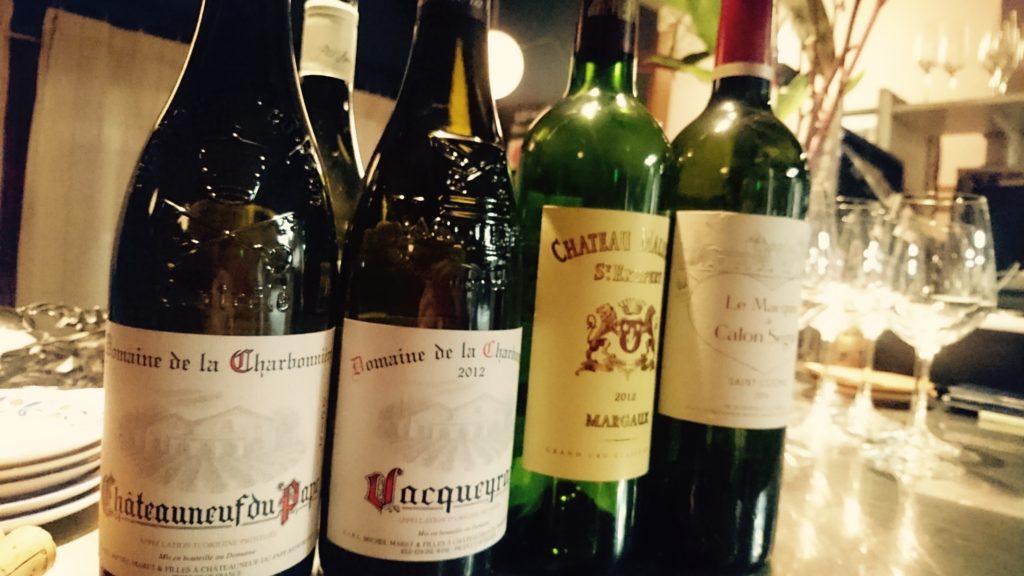 赤身肉によく合う赤ワインたち